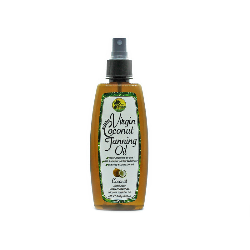 The Tropical Shop Natural Virgin Coconut Tanning Oil - Island Girl