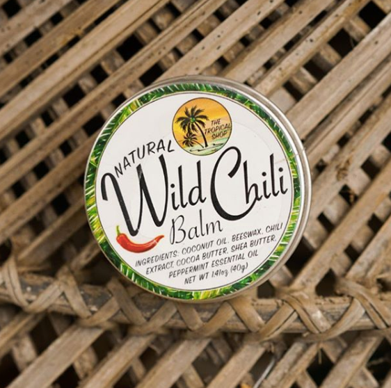 The Tropical Shop Natural Wild Chili Balm - Island Girl