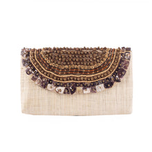 Load image into Gallery viewer, TRINIDAD Raffia Date Night Clutch - Island Girl