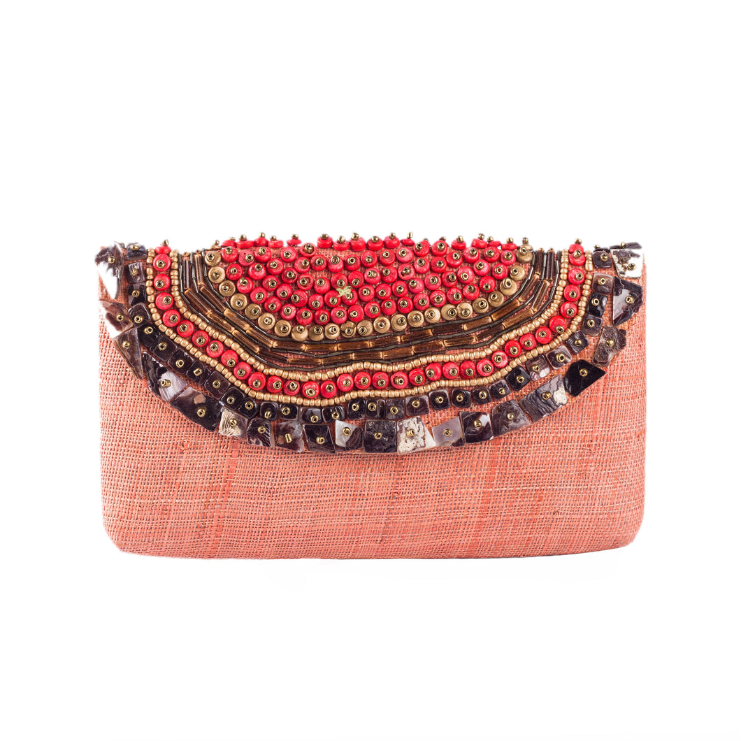 TRINIDAD Raffia Date Night Clutch - Island Girl