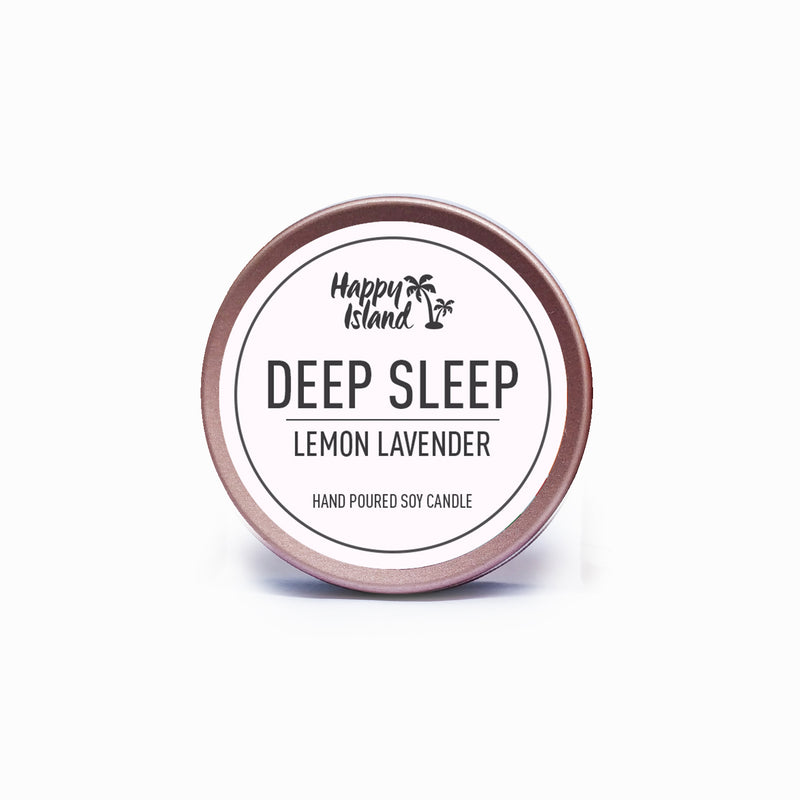 Happy Island Deep Sleep Lemon Lavender Tin 2oz
