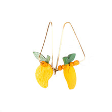 Load image into Gallery viewer, DANGLING MANGO Earrings - Island Girl