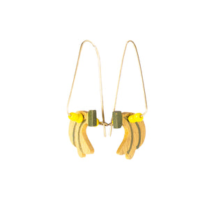 DANGLING BANANA Earrings - Island Girl