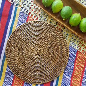 Seneca Rattan Placemats (Set of 2) - Island Girl