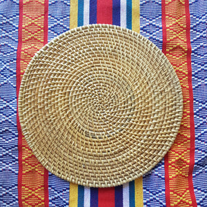 Tantra Rattan Placemat ( Set of 2) - Island Girl