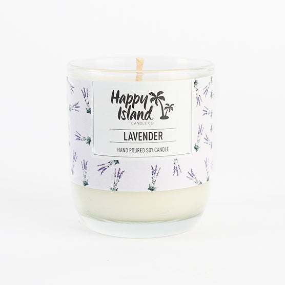 Happy Island Lavender Soy Candle 8oz