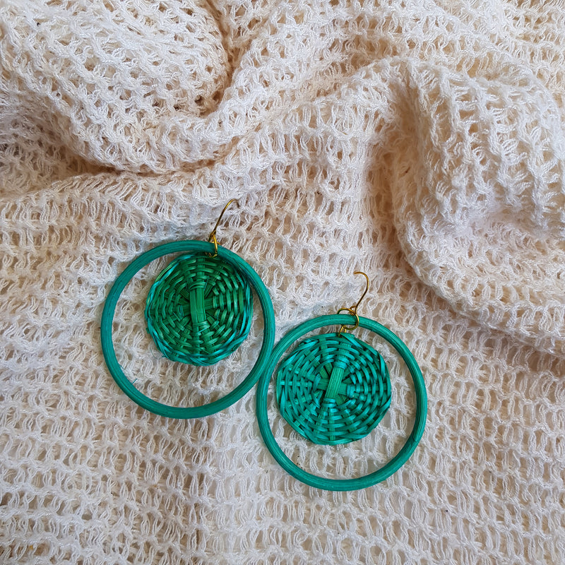 Madeline Earrings in Turquoise - Island Girl