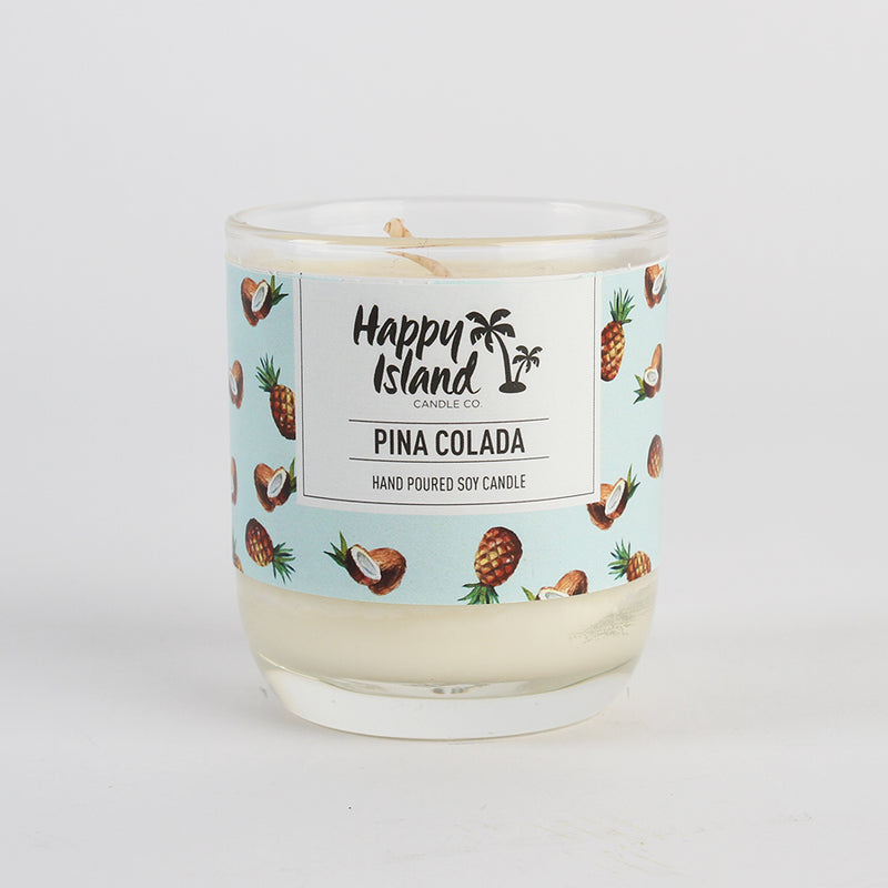 Happy Island Pina Collada Soy Candle 8oz