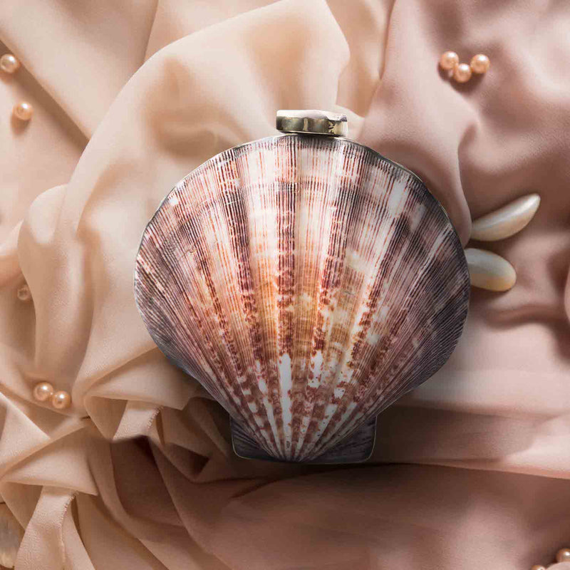 Ximena Clam Shell Clutch - Island Girl
