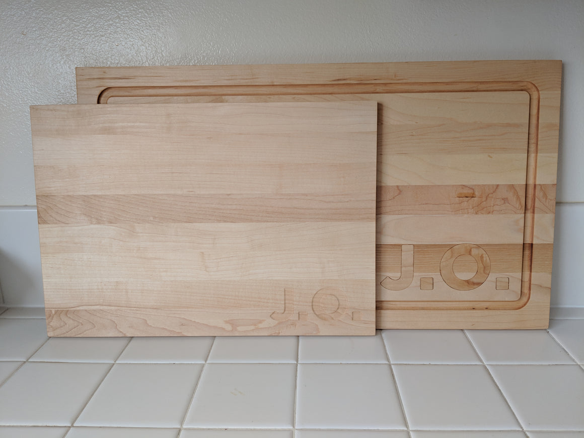 Set of Butcher Blocks for Janice - Multiply Studio | Hardwood Home Furniture and Accessories made in California