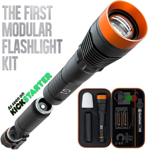 DanForce G1- The World's First Modular Flashlight Kit
