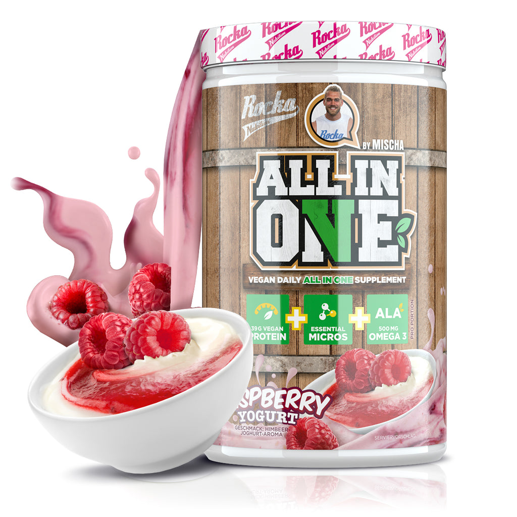 All In (V)One | Raspberry Yoghurt