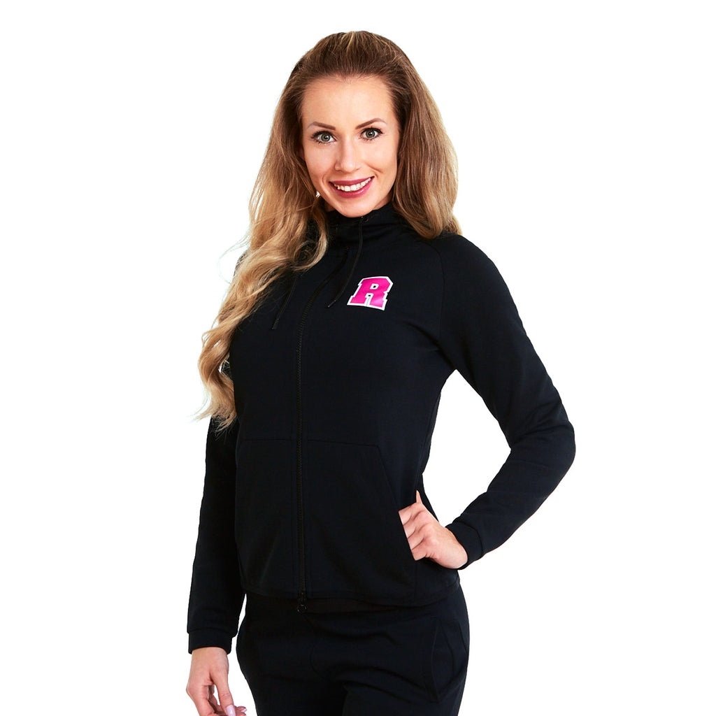 WMNS Performance Zipper Black