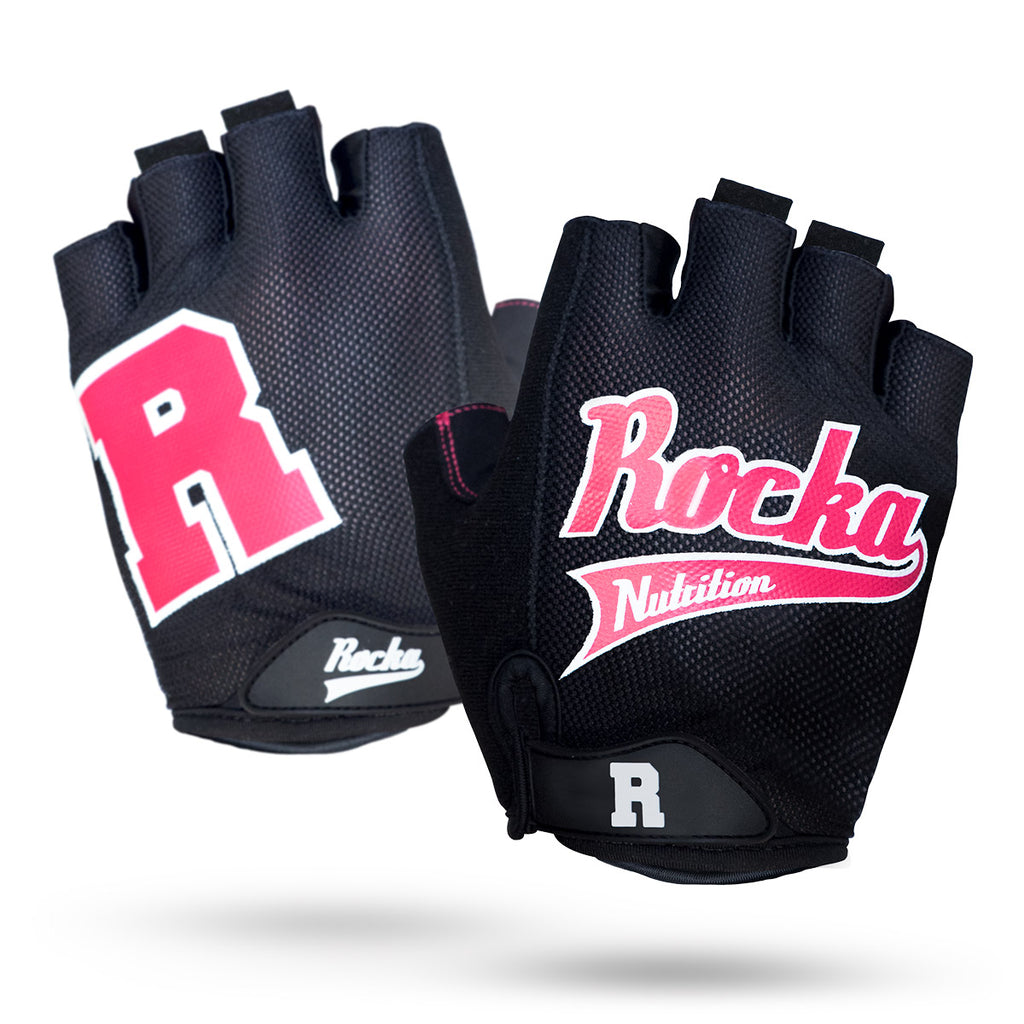 Rocka Gloves in pink