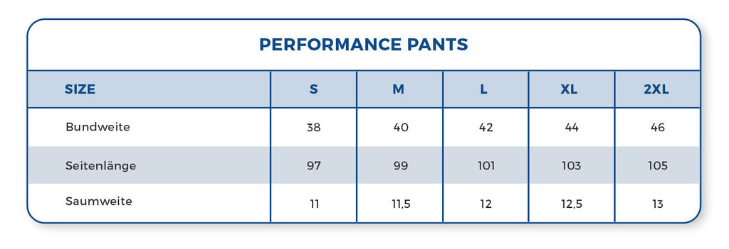 Performance Pants | Black