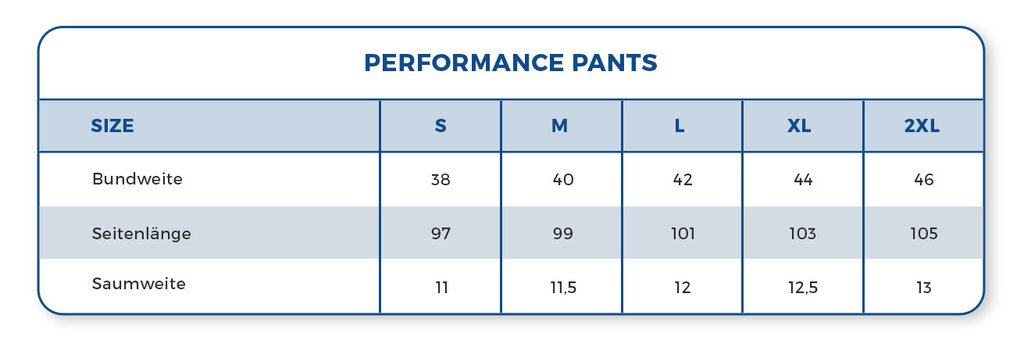 Performance Pants | Navy