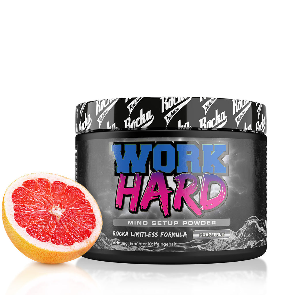 Work Hard Mind Booster  | Grapefruit