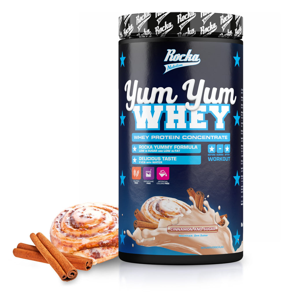 Yum Yum Whey | Cinnamon and Sugar