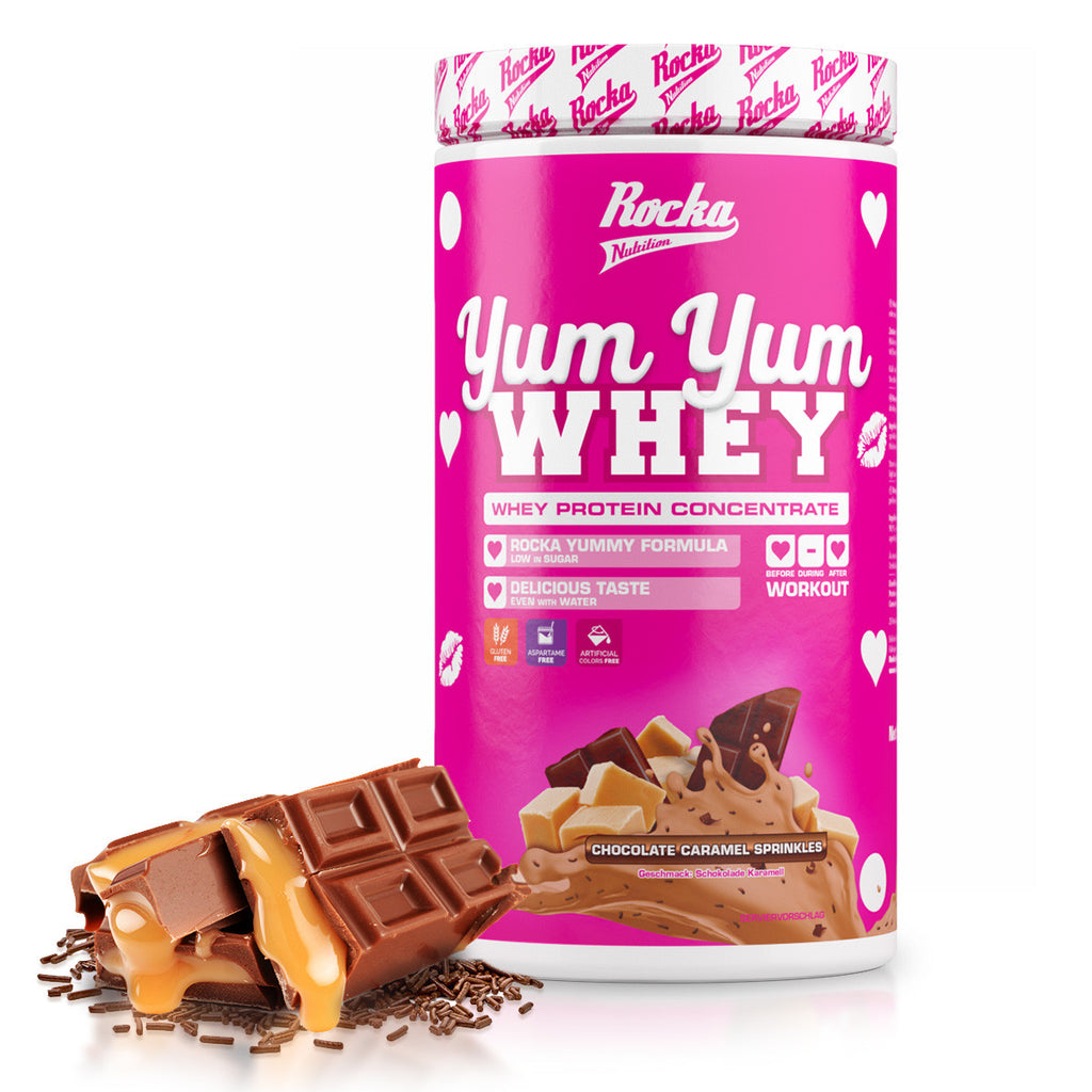 Yum Yum Whey | Chocolate Caramel Sprinkles