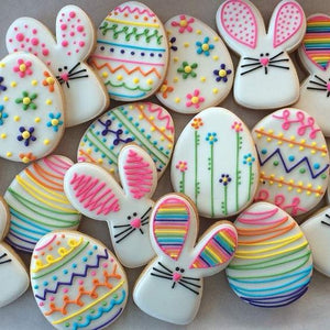 Masterclass - Easter - Egg Dyeing, Greek Easter Bread, Bunny Cookies