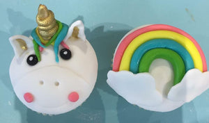 Cupcake Decorating - Rainbows and Unicorns - (6-14 years) - 1-3pm