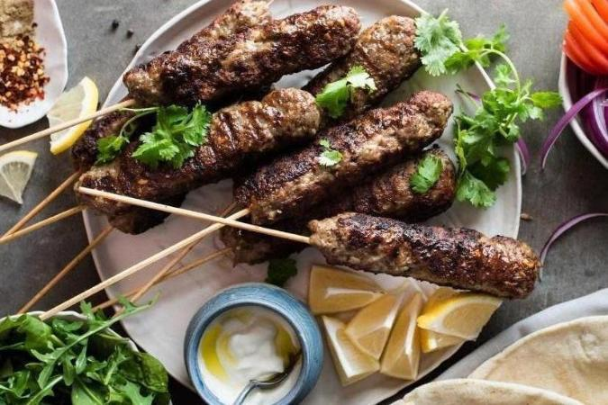 Kofta Skewers with Hommus - 9:30-11am - (6 - 14 ages)