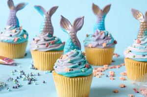 Cupcake Decorating - Mermaid & Merman-  9.30-11.30am  (6-14 ages)