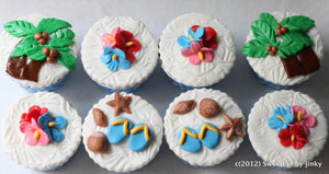 Cupcake Decorating - Tropicana -  9.30-11.30am  (6-14 ages)