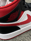 Air Jordan 1 Mid Metallic Red