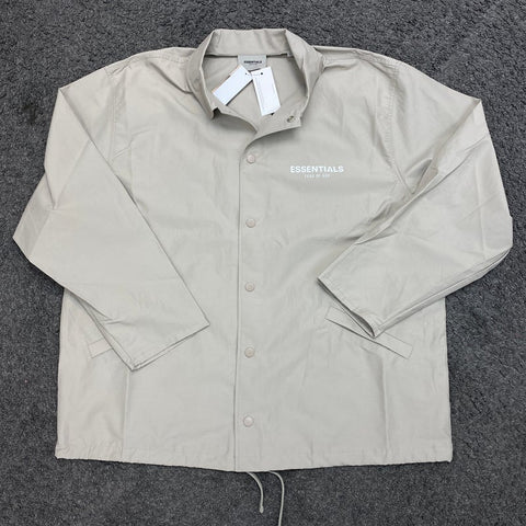 Fear of God Essentials Coach Jacket Moss