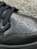 Air Jordan 1 Mid Black Snakeskin
