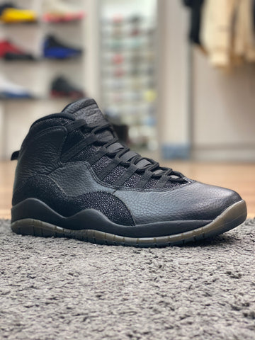 Air Jordan 10 Retro OVO Metallic Black