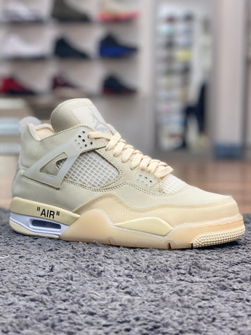 Off-White x Nike Air Jordan 4 White