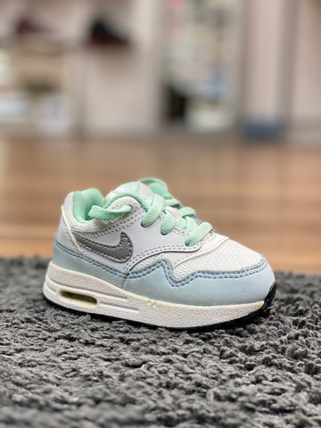 Nike Air Max 1 White Light Blue Mint (TD)