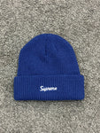 Supreme Loose Gauge Beanie Navy