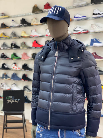 Moncler Riom Puffer Jacket Navy