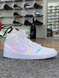 Air Jordan 1 Mid SE White Xeno