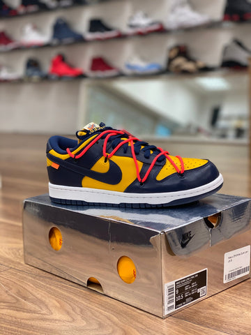 Nike Dunk Low X Off-White University Gold