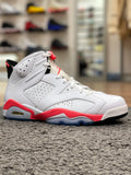 Air Jordan 6 Retro Infrared White (2014)