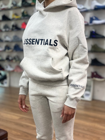Fear Of God Essentials Tracksuit Set Oatmeal
