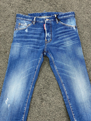 Dsquared2 Cool Guy Jean Washed Blue