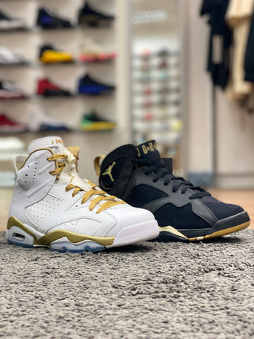 Air Jordan 6 & 7 Golden Moments Pack