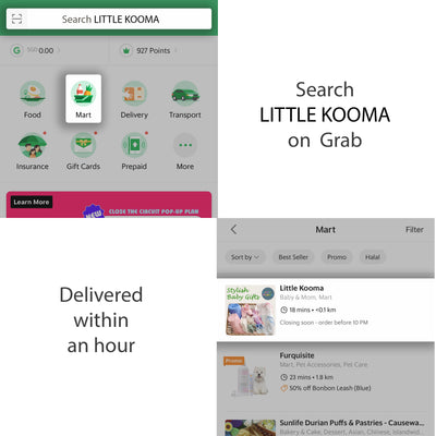 Little Kooma x Grab Mart