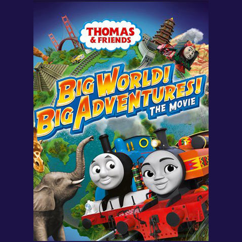 Thomas & Friends: Big World! Big Adventures!: The Movie