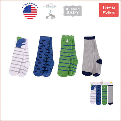 Hudson Baby Knee High Socks 4 Pairs Pack 00384CH - Little Kooma