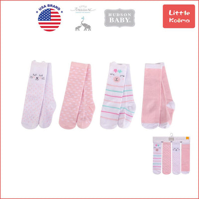 Hudson Baby Knee High Socks 4 Pairs Pack 00393 - 1221 - Little Kooma