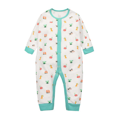 Baby Sleepsuit Snail Frog Elephant Jumpsuit All In One - Little Kooma