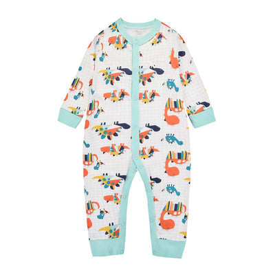 Baby Sleepsuit Dinosaur Jumpsuit All In One - Little Kooma