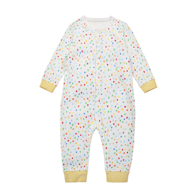 Baby Sleepsuit Colorful Dots Jumpsuit All In One - Little Kooma