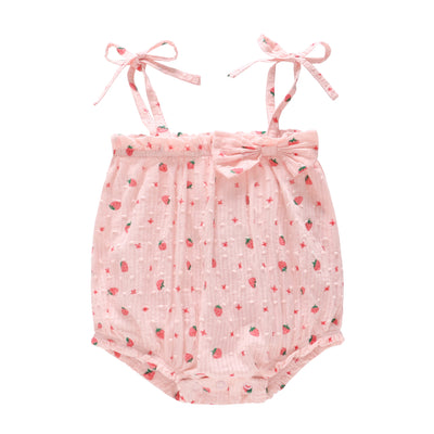 Baby Camisole Bodysuit strawberry - 0611 - Little Kooma